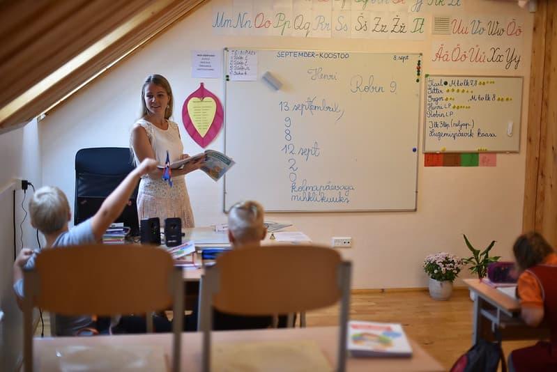 Koolitund Jakobi Koolis septembrikuus 2020